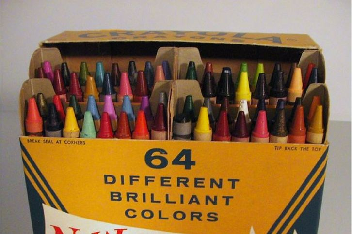 Box of Crayola Crayons 64