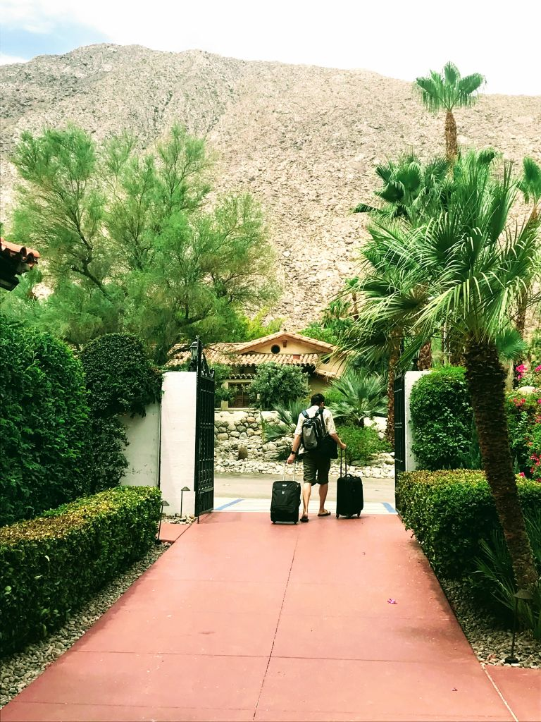 Checking out of Hotel with Baggage