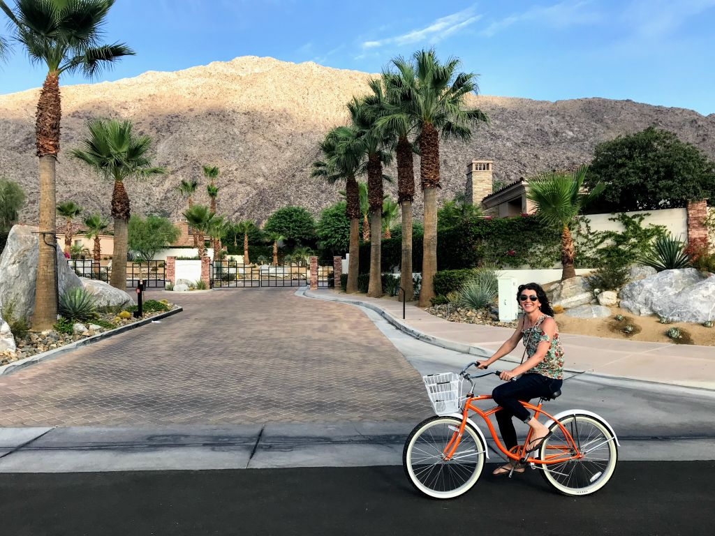 Palm Springs Early Morning Bike Ride