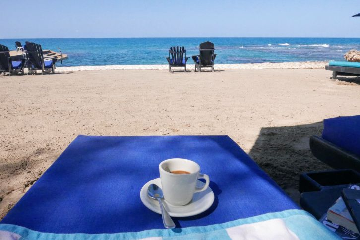 Coffee on Beach, Jamaica