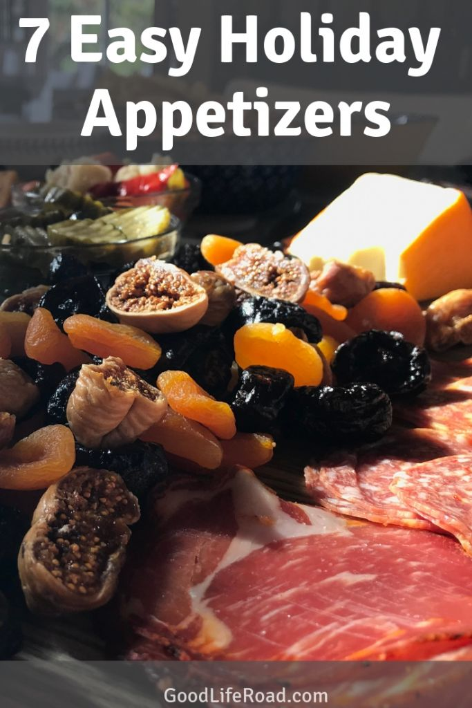 Appetizers Shopping List Pin